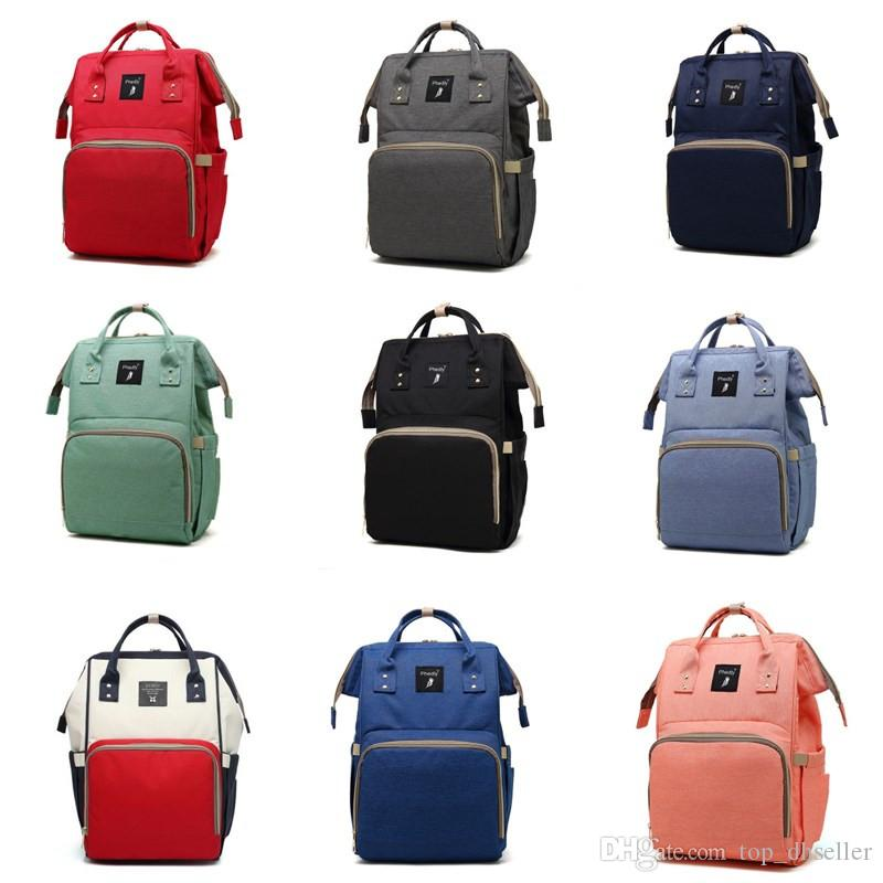 ea7636fee22 Mommy Backpacks Brand Mom Nappies Bags Fashion Mother Backpack ...