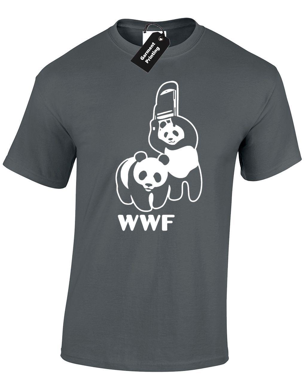 ce28605d1 PANDA WRESTLING MENS T SHIRT WRESTLING BANKSY WCW TNA PARODY ANIMALS TOP T  Shirts Print Tees Online From Cls6688524, $10.66| DHgate.Com
