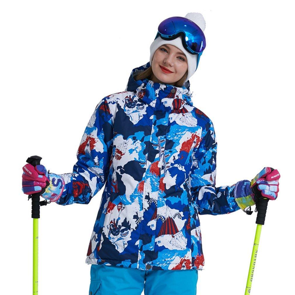 5b406d566e9e7 Satın Al Kadınlar Açık Kayak Kış Su Geçirmez Rüzgar Geçirmez Kalınlaşmak  Sıcak Kar Giyim Kayak Mont Kayak Ve Snowboard Için, $76.57 | DHgate.Com'da