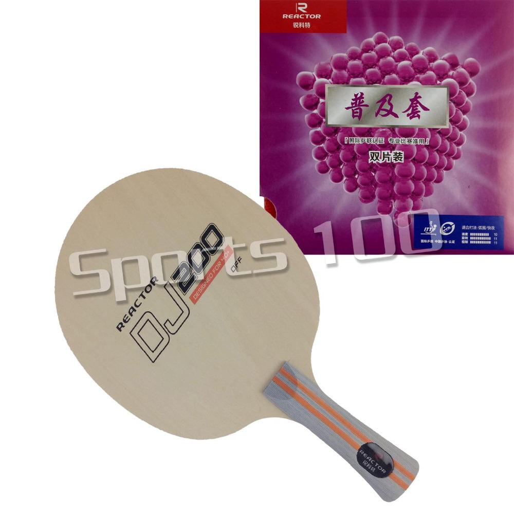 9c38e376596 Table Tennis Racket Reactor DJ200 Table Tennis Blade with Corbor Pingpong  Rubber Table Tennis Rackets Cheap Table Tennis Rackets Table Tennis Racket  Reactor ...