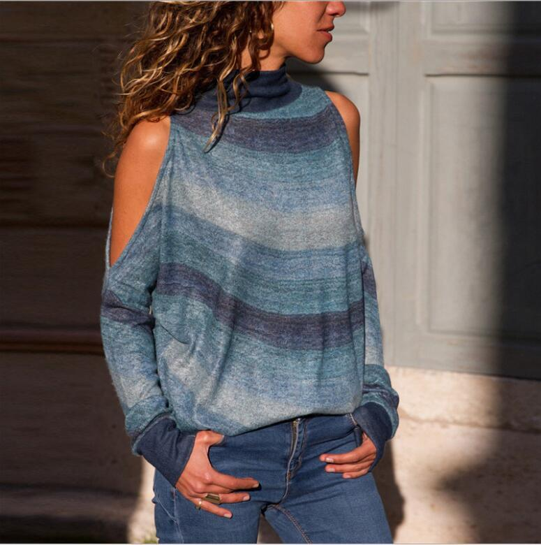 954562466 Women Sweatshirt Spring Autumn Pullover Print Lady Sweatshirts Knits ...