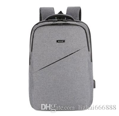 New business men and women multi-function computer USB charging backpack backpack student school bag #036