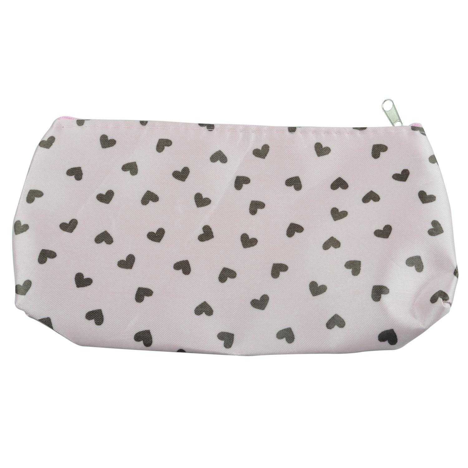 Großhandel-Sweet Heart Kosmetiktasche Make-up Bag Hard Case Bag - Pink