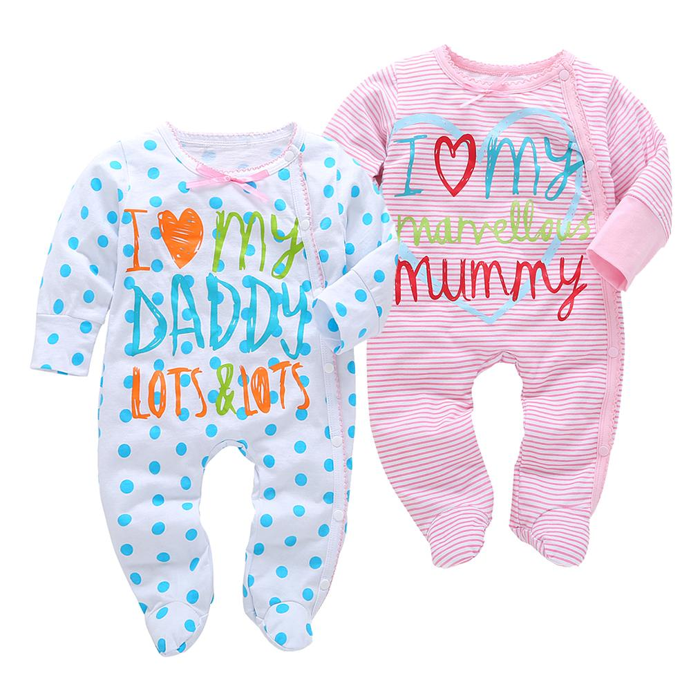 e5614c5ad 2019 2018 New Arrival Cotton Baby Rompers Girl Boy Baby Clothes Pajamas  Newborn Clothes Jumpsuits Infant Clothing Outfit Baby Product Y18120801  From ...
