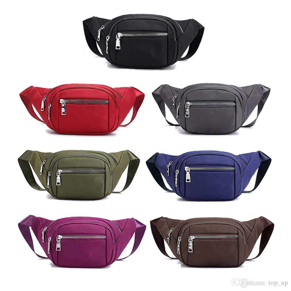 3492f1fd4ebf Waist Pack Bag,Soft Druable Nylon, Water Resistant for Men & Women with  Adjustable Strap for Outdoors