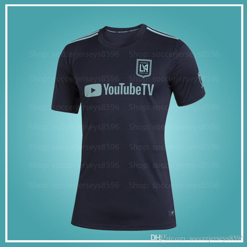 huge discount 96107 954c5 MLS Los Angeles FC 2019 Parley Jersey 2019 2020 Parley LAFC soccer jersey  women men 19 20 MLS LAFC Vela Parley jerseys XXS-4XL