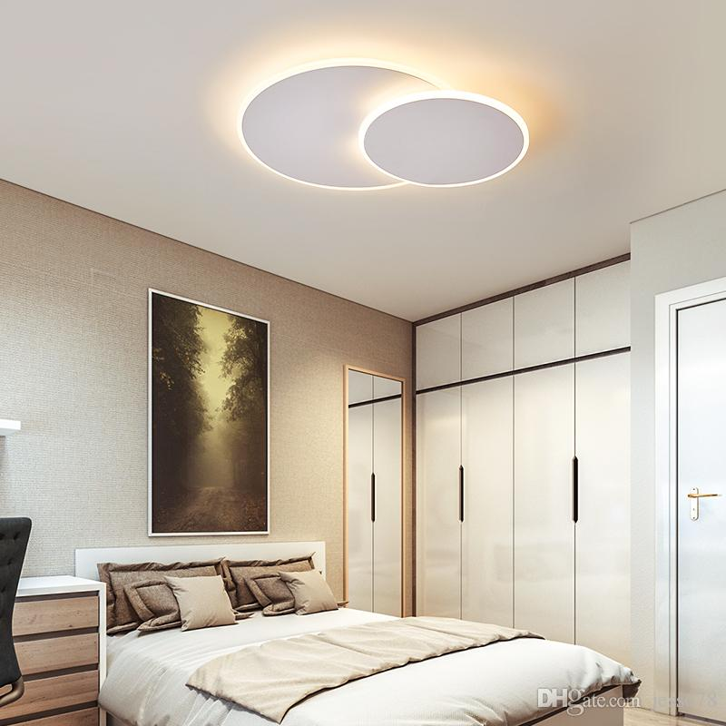 Acquista Lampade Da Soffitto Moderne Ultrasottili Led Jess Girevoli