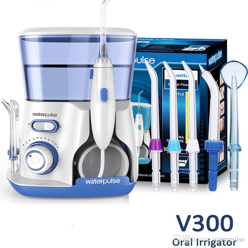 2fe4d5a9f Waterpulse Flosser Flosser Flosser Flosser Flosser Profissional Dental  Irrigador Oral Recarregável À Prova D  Água de Alta Capacidade Tanque de  Água com 4 ...