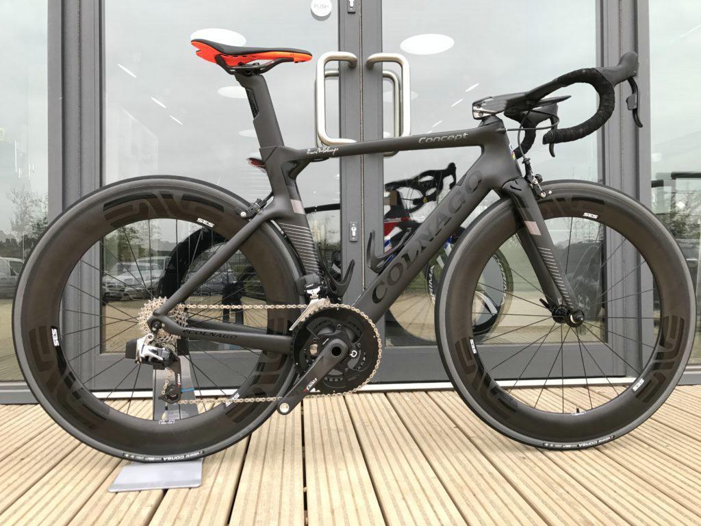 Bob Colnago Concept Carbon Road Bike Black Bicycle Store