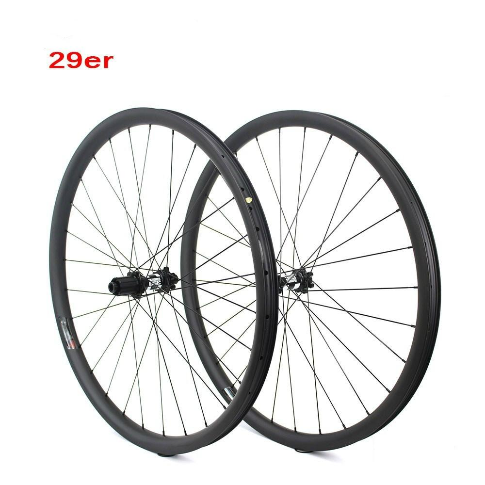 DT Swiss 350 Hub 29er MTB Carbon Wheel 33mm Width For Cross Country And All Mountain Bike Wheelset QR Or Boost