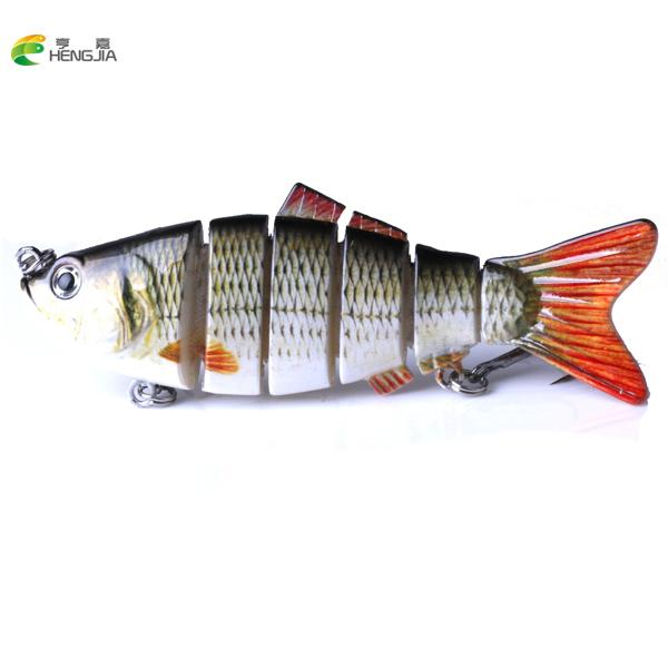 Fishing Wobblers Lifelike Fishing Lure 6 Segment Swimbait Crankbait Hard Bait Slow Isca Artificial Lures Fishing Tackle