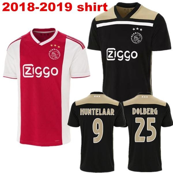2018 adults t shirt ajax shirt 18/19 men shirts best quality adult