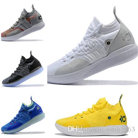 7f95d039ed20 2019 Kevin Durant 11 Basketball Shoes Men KD 11 Gold Championship MVP  Finals Sports Shoes Training Sneakers Running Shoes Size 7 12 Basketball  Shoes For Men ...