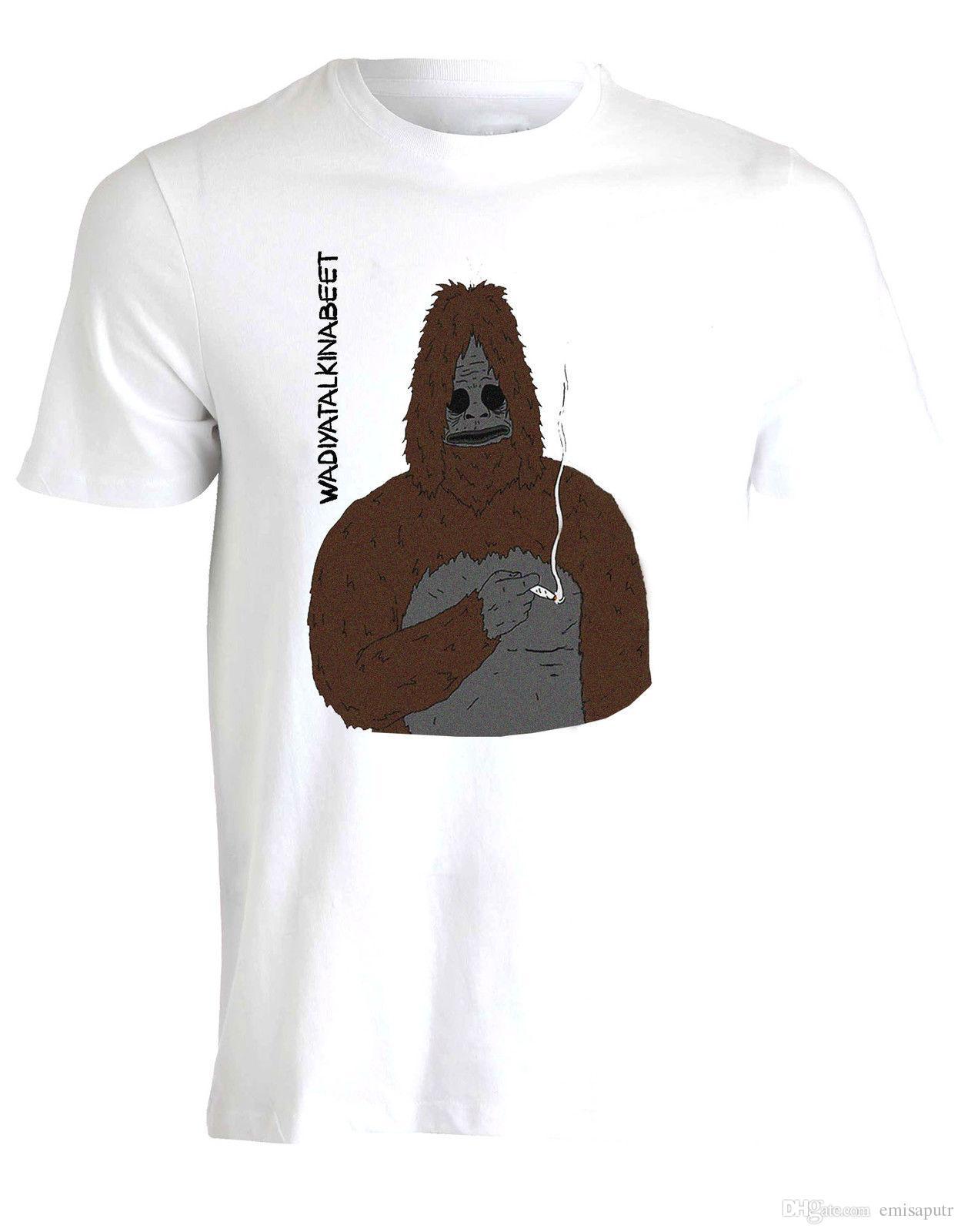 a3af0d35 Sassy The Sasquatch Big Lez Show Whatcha Parlare Frase Funny T Shirt Da  Uomo Great Tees Latest Designer T Shirts From Emisaputr, $10.76| DHgate.Com