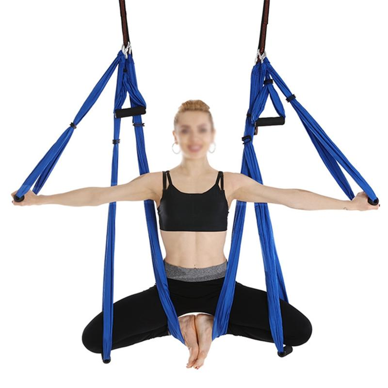 Search For Flights Anti-gravity Yoga Hammock Fabric Yoga Flying Swing Aerial Traction Set Equipment Swing Latest Multifunction Anti-gravity 7 Sports & Entertainment