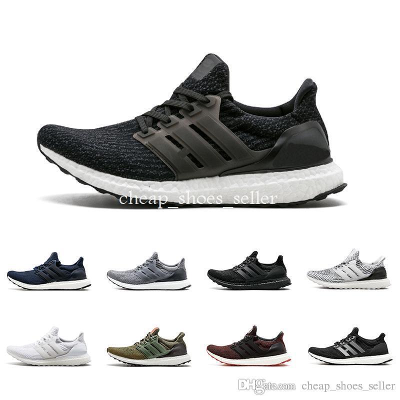 08e6c416f45 Ultra Boost 3.0 III Uncaged Running Shoes Men Women Ultraboost 4.0 IV  Sneaker Primeknit Runs White Black Athletic Sports Shoe 36-45 Ultra Boost  Tn Ultra ...