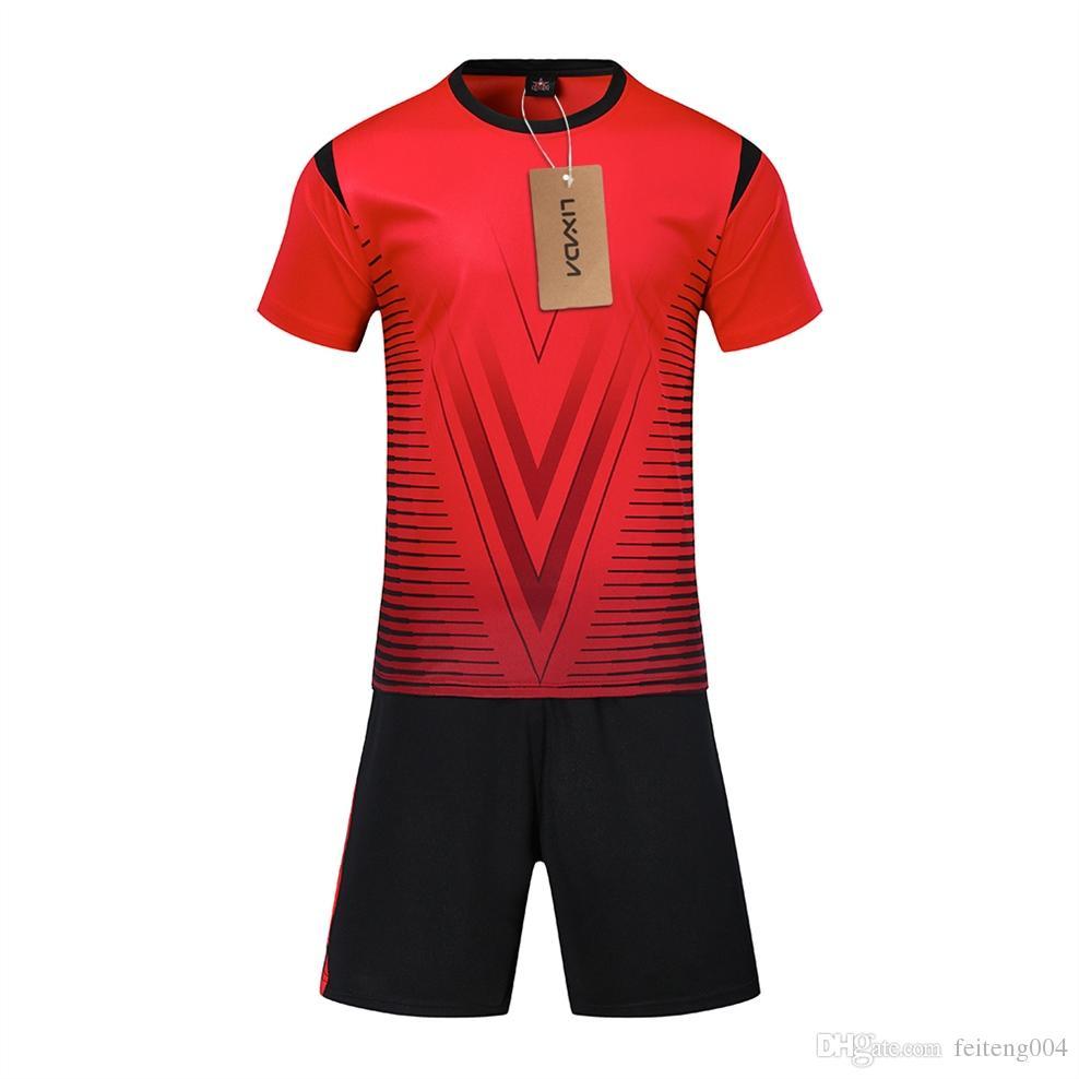 7c4655a4a 2019 New Adult Kids Football Jerseys Professional Soccer Jerseys Set  Breathable Short Sleeve Football Uniforms Kit Shirt Tracksuit  715969 From  Feiteng004