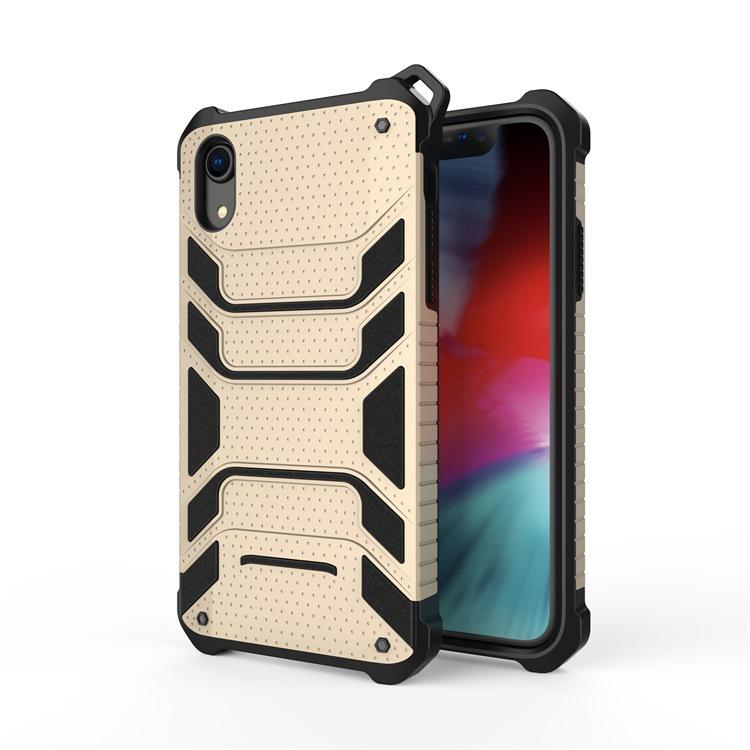 Hybrid Rugged Armor Slim Shockproof Cell Phone Cases for IPhone 11 X XS MAX XR 8 Plus 6 6s 7 Heat Dissipation Cases Silicon PC Back Cover