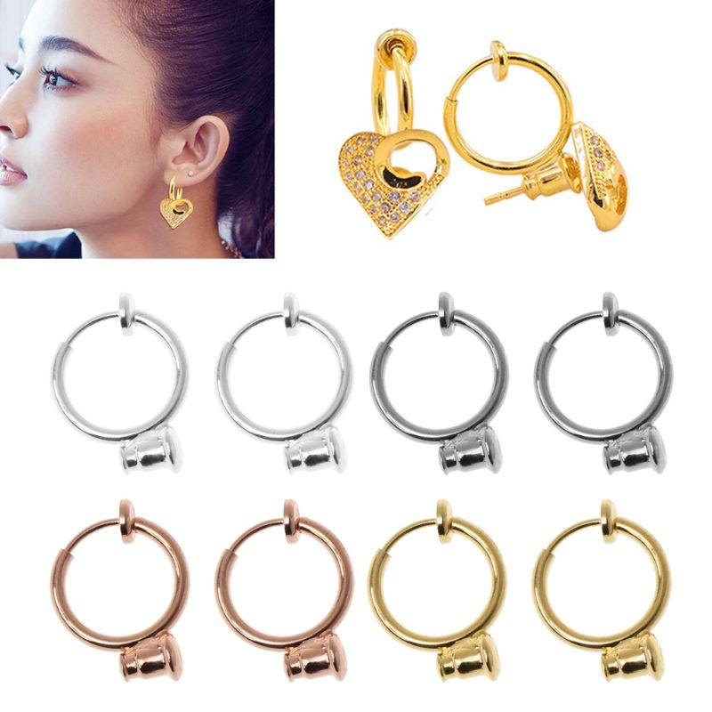 2cb3af03d 2019 Clip On Earring Converters No Pierced Turn Any Stud Into A Clip On  From Juemin, $33.26 | DHgate.Com