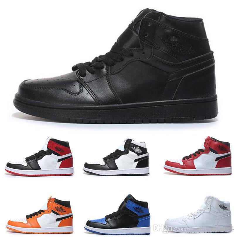 8f0c0e3cc318 2019 Air OG 1 Top 3 Retro Mens Basketball Shoes For Women High Quality  Designer Luxury UNC Rebel Sports Sneakers Trainers Maxes Shoes 40 47 From  ...