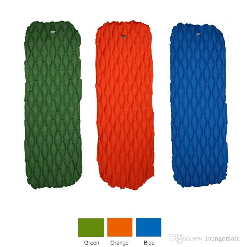 Ultra Light TPU Sleeping Pad Waterproof Travel Portable Air Cushion Outdoors Single Person Moisture Proof Mats Hot Sale 88csI1