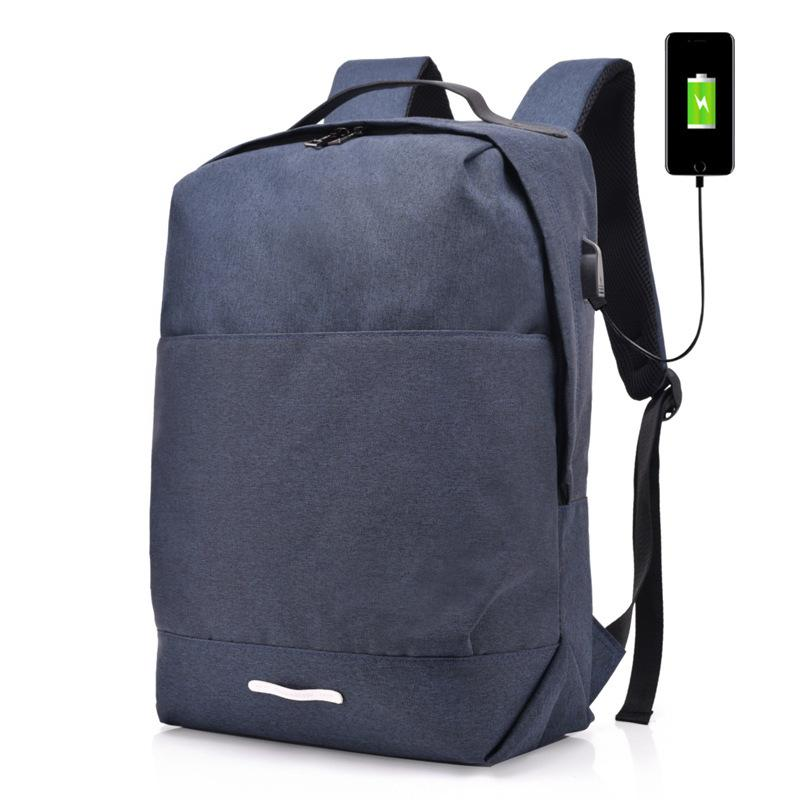 392c9bf84f USB Interface Backpack Men Women Canvas Backpack Student Bag Large Capacity  Travel Waterproof Computer Bag Mochila Kids School Bags Bags For School  From ...