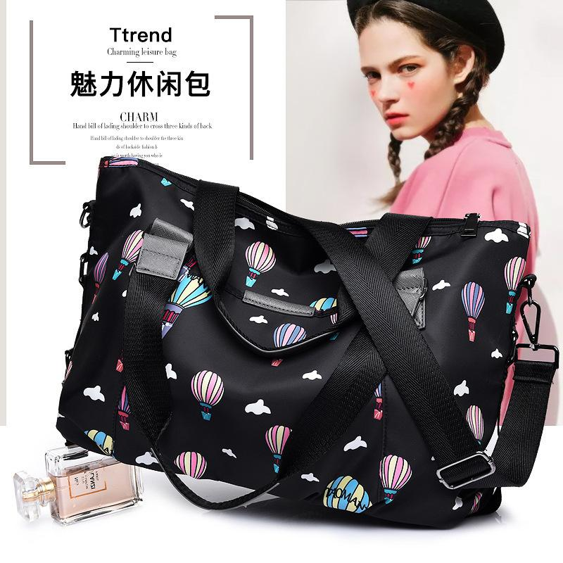 Dream2019 Calda mongolfiera per il tempo libero per il tempo libero Nylon Light Woman Capacity Hand Hand Bill of Lading Shoulder Satchel Package