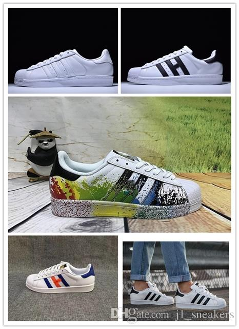 2019 Casual Originals Superstar White Hologram Iridescent Junior Superstars 80s Pride Sneakers Super Star Women Men Casual Shoes 36-45 up10