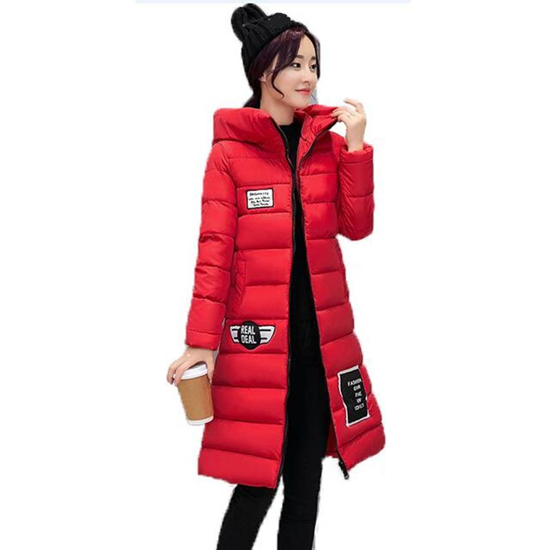 8a41f4da482 Ladies Winter Jacket Women Coat Outerwear Long Wadded Jackets Female Slim  Down Cotton Padded Parkas Winter Women Jacket Overcoat Online with   104.65 Piece ...