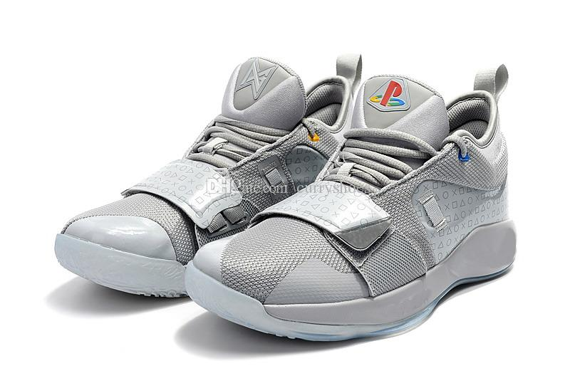 d53f7d0dcc622c Boys PG 2.5 Playstation Shoes Wolf Grey for Sales Top Quality Paul ...