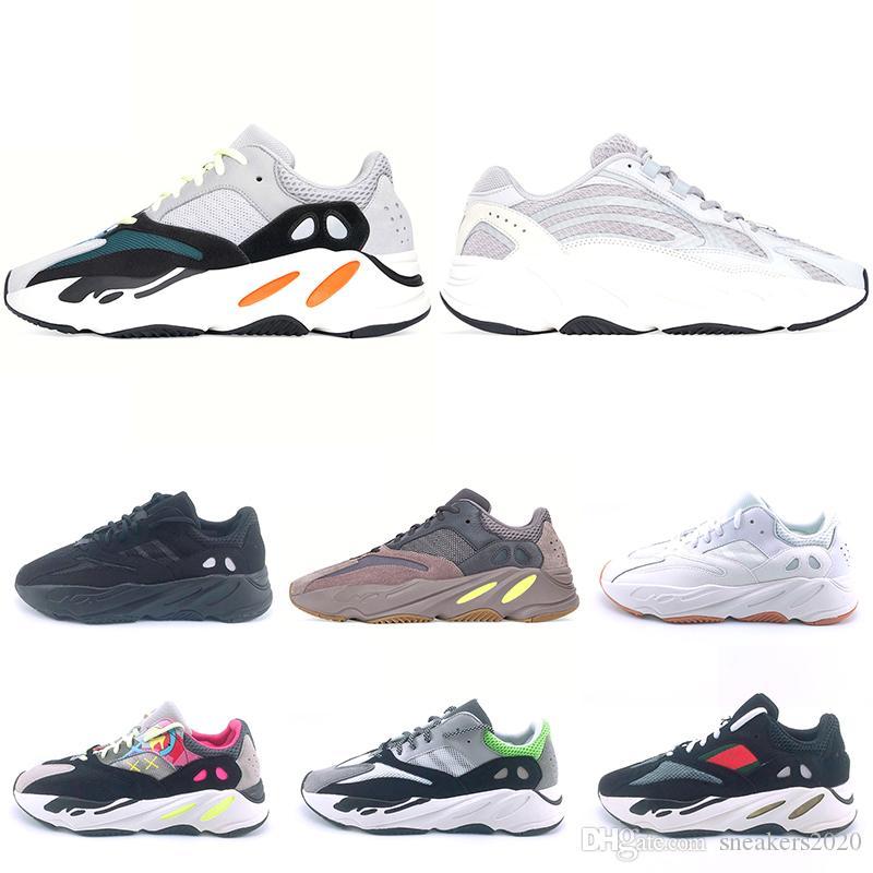 8d6118a39bb8f Kanye West 700 Mauve Static 3M Wave Runner Running Shoes For Men ...