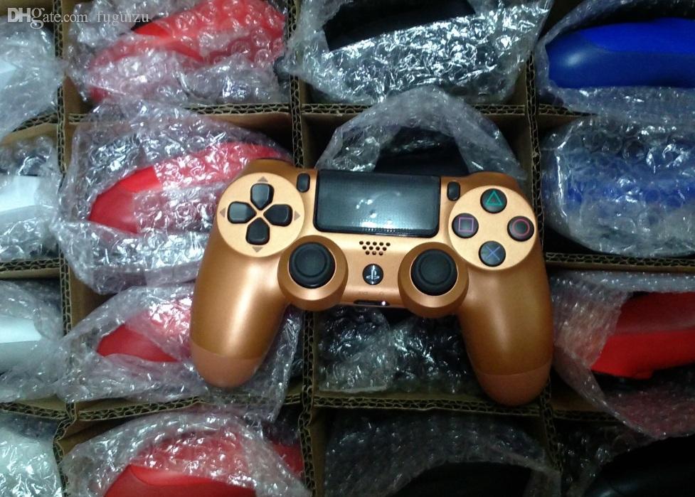 18 colores Controlador PS4 para PS4 Vibración Joystick Gamepad controlador de juegos inalámbrico para Sony Play Station con la caja al por menor