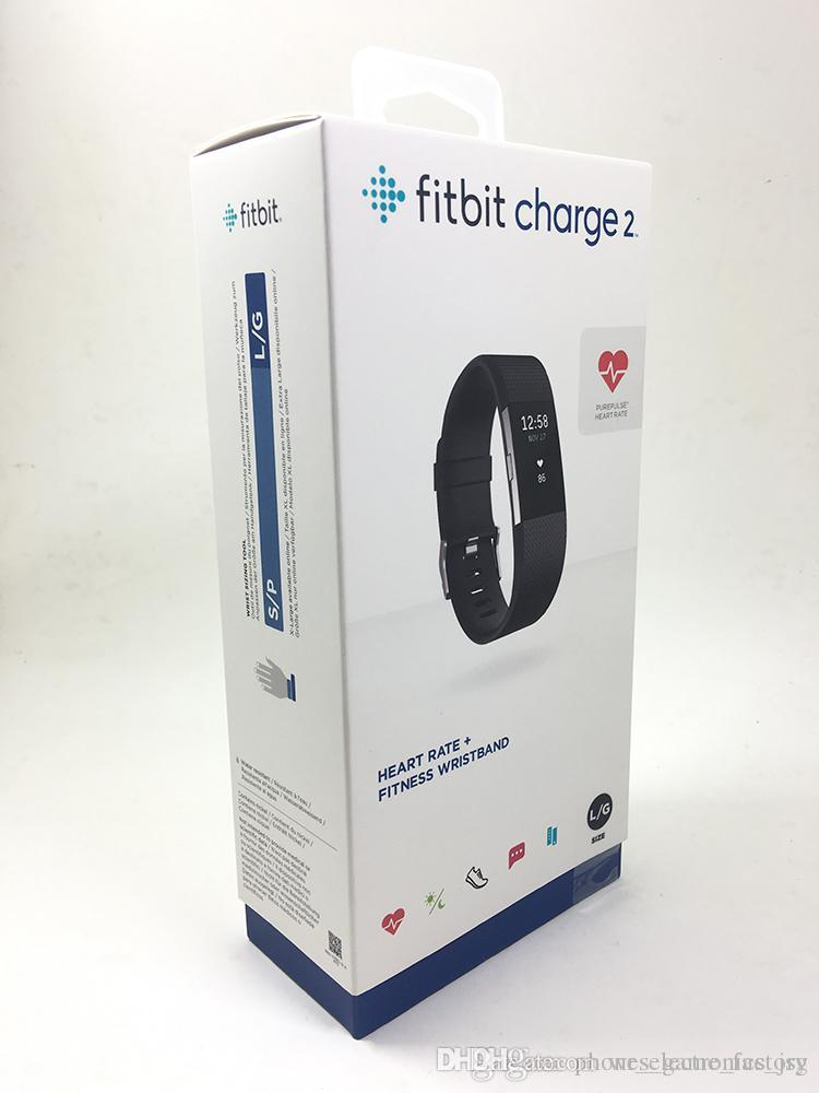 Fitbit Charge2 original used 99% new Smart Wrisbands with Fitbit App Heart  Rate + Fitness Wristband smart watches