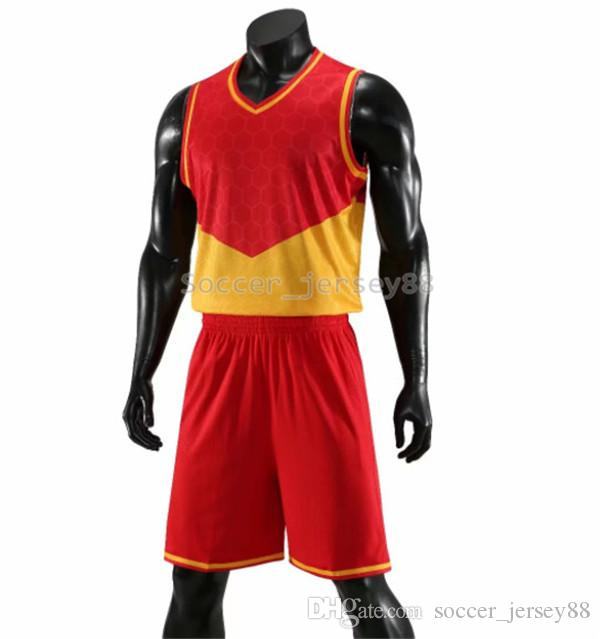 New Mens Blank Edition Basketball Jerseys #A801-2 customize Hot Sale Quick Drying T-shirt Club or Team jersey Contact me football shirts