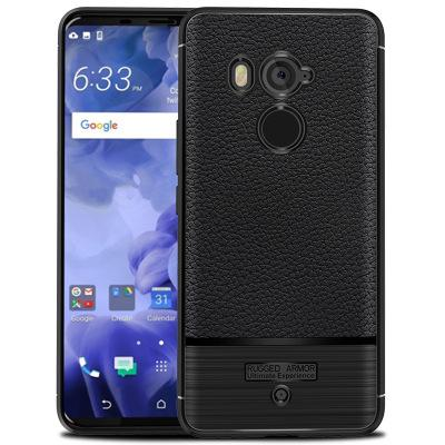 san francisco d1117 d58ec For HTC U11 Plus Case Soft silicone Rugged Armor shockproof protective Back  Cover Cases for HTC U11 Plus full cover shell