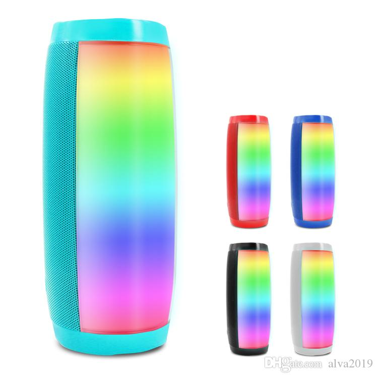 The portable outdoor High quality wireless bluetooth speaker good sound with LED lights
