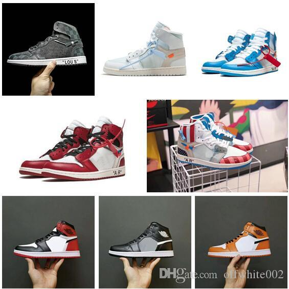 e3827267 2019New arrival OFF 1 1s mens basketball shoes three limited fashion  sneakers off trainers sports shoe white size 36-45