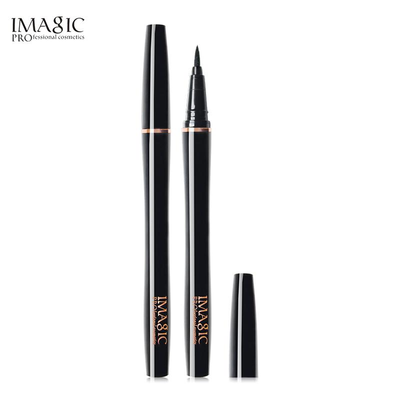 IMAGIC Professional Waterproof Nature Long Lasting Liquid Eyeliner - Black High Pigment Lasting Makeup Eyeliner