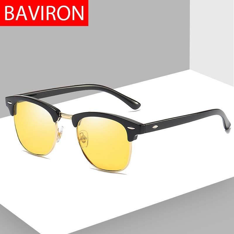 2cd3d2a83c BAVIRON Men Women Sunglasses Polarized Uva Uvb Retro Classic Sunglasses Male  Wayfer Drive Sun Glasses Female Vintage Drop Ship Sunglasses Hut Reading ...