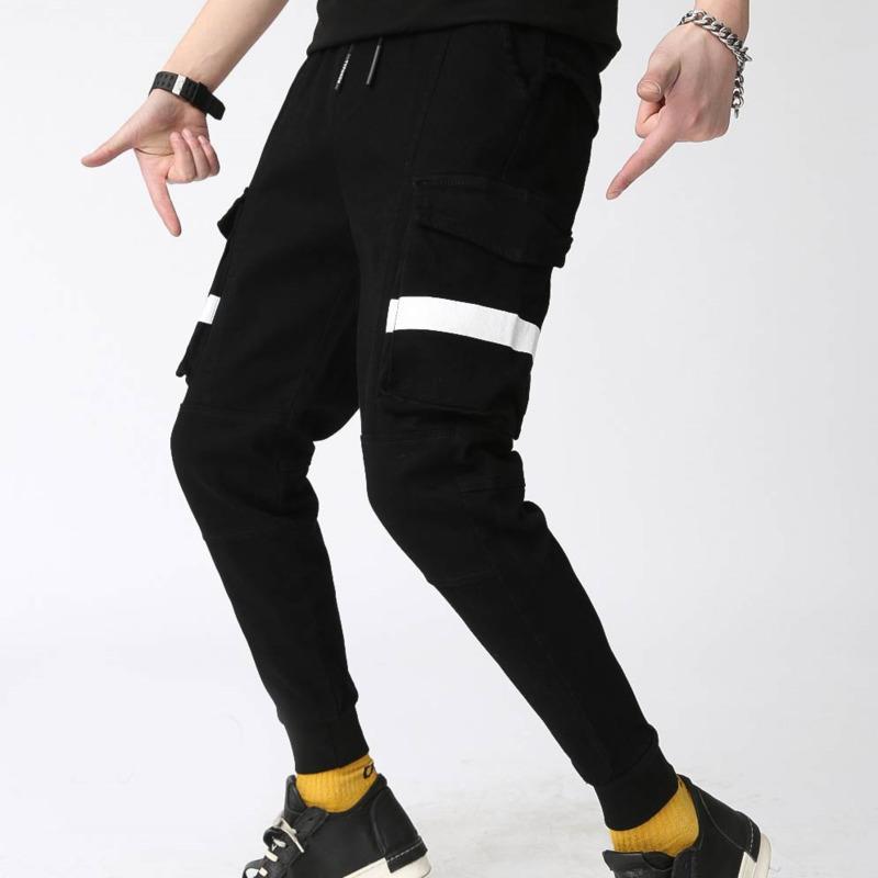 78b060f0e 2019 Autumn New Joggers Pants Men Fashion Elastic Waist Drawstring Casual  Sweatpants Man Streetwear Hip Hop Loose Pants Male From Jerkin, $36.39 |  DHgate.