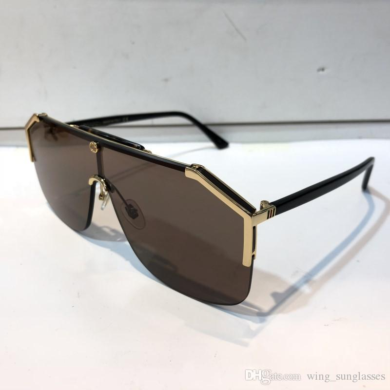 1444fe85ad GUCCI GG0291 occhiali da sole firmati per donna acetato fashion occhiali da  sole retrò con telaio oculos De Sol Masculino feminino