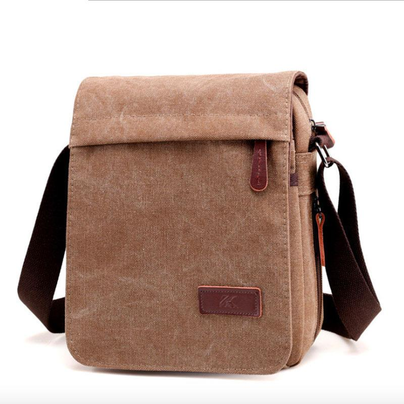 2019 Direct Selling Promotion Kvky Casual Men S Bags Cool Canvas Bag
