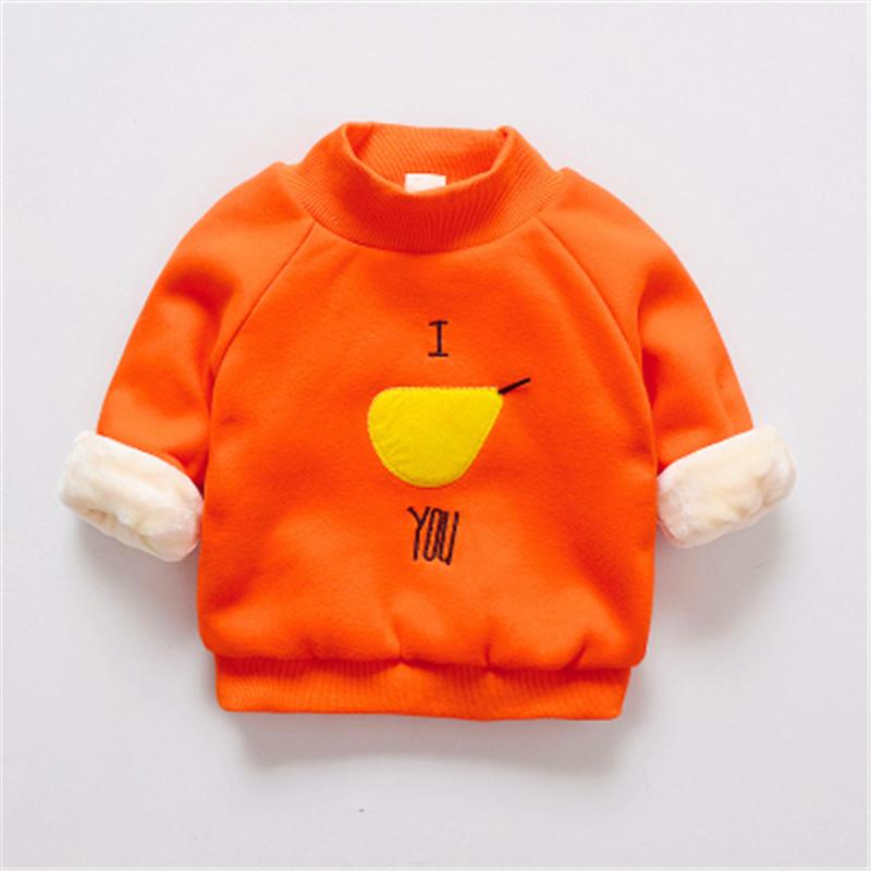 good quality children girls boys clothes Striped hoodie for baby boy autumn winter kids cotton t-shirt girls sport cotton outerwear