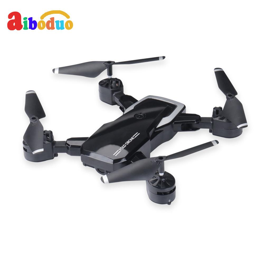 Aiboduo 11PCS Folding UAV Aerial Aircraft Toy Mini Four-axis Aircraft Model Remote Control Helicopter LF602