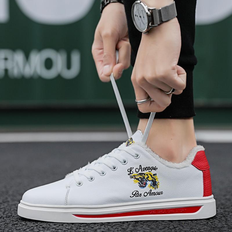1f5929226f52ce Großhandel Winter Warme Pelz Freizeit Schuhe Männer Sneaker Männer Mode  Freizeitschuhe Plattform Flache Zapatillas Hombre Klassische Freizeitschuh  Von ...