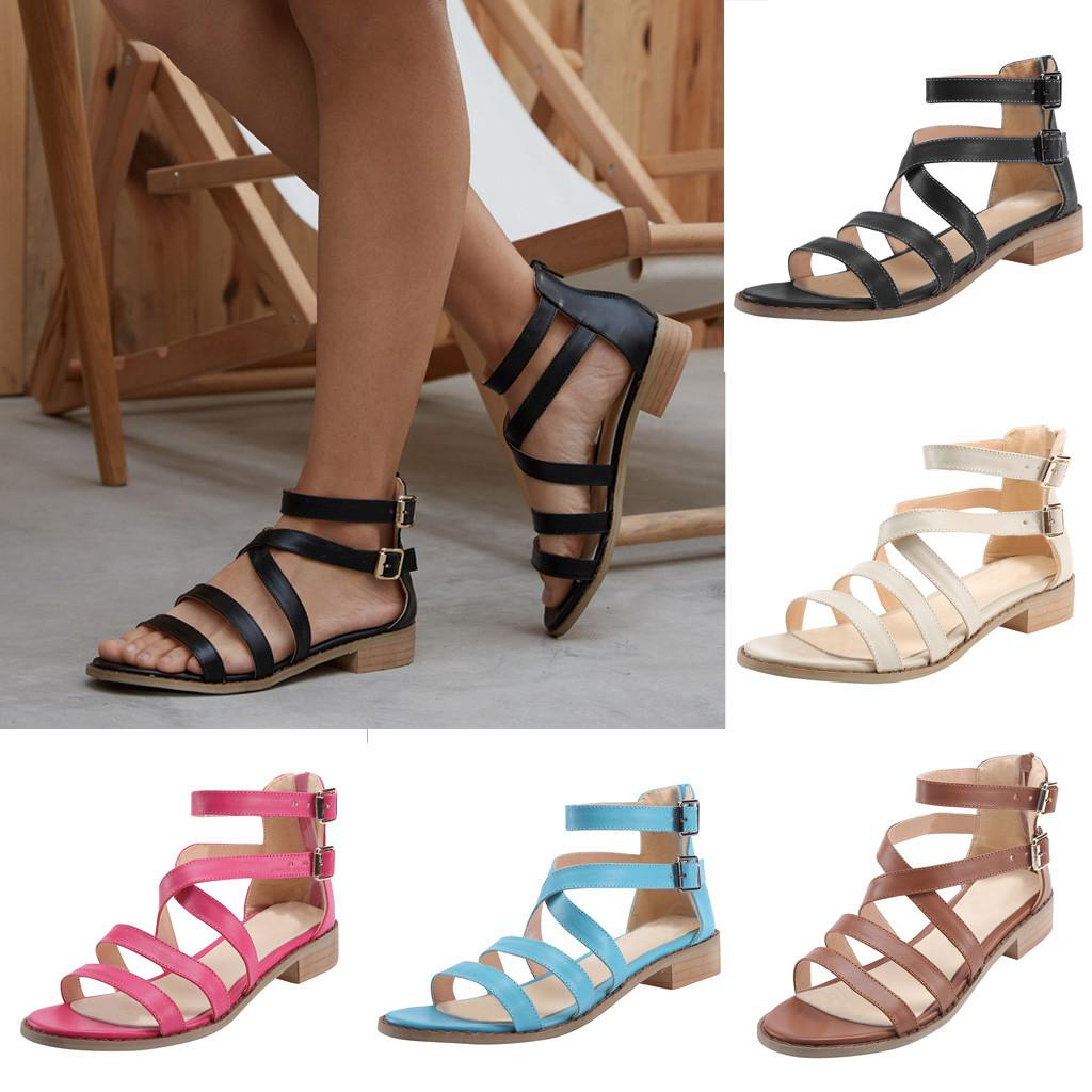 ac07ae2fdc7 Ms. Summer Transparent Jelly Sandals Fashion Women Ladies Buckle Strap  Sandals Ankle Square Heel Beach Open Toe Shoes  89 Gold Sandals Sandals For  Women ...