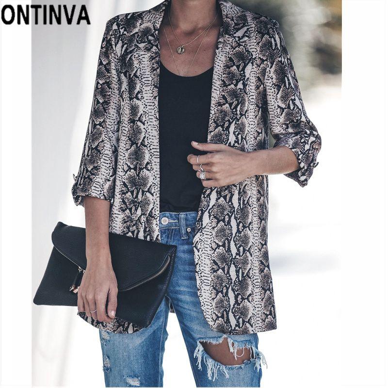 Blazer Frauen Kleidung & Zubehör 2019 Neue Frauen Doppel Tasche Blazer Zweireiher Mode Büro Dame Mantel Und Jacke