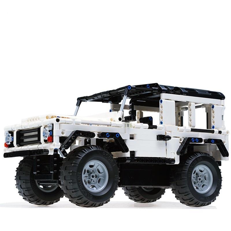 2019 51004 Remote Control Blocks Car Suv Assemble Land Rover