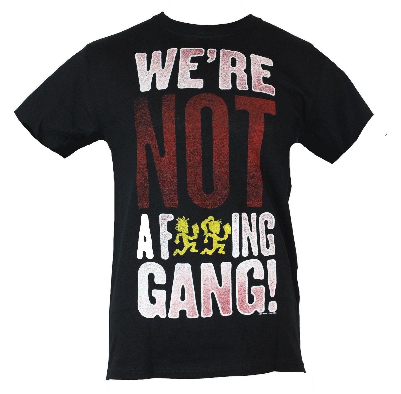 6cb786fa ... insane clown posse icp mens t shirt not a f ing gang logo really ...