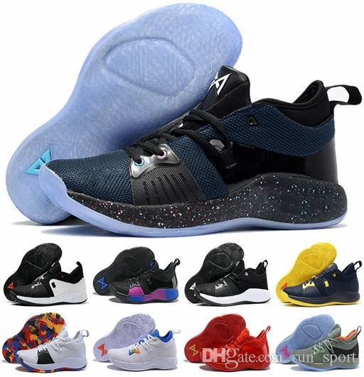 3164f98365f2 Acquista Con Le Scarpe Da Basket Box Pg 2 II Cheap Di Alta Qualità PGful  Oreo Home Playstation Scarpe Paul George Mens Training Sneakers Taglia 40  46 A ...